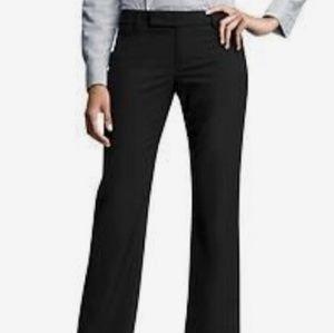 NWT Gap Modern Boot Black Slacks Size 00R